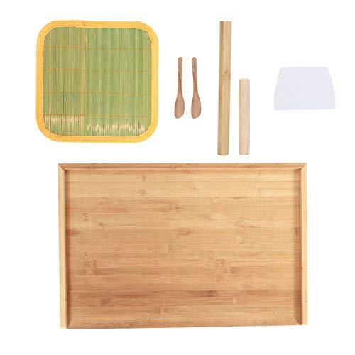 Yencoly Tabla de amasar, Tabla de Masa, Conveniente Fregadero de guía de 60x40x3 cm, Seguro, Respetuoso con el Medio Ambiente, de Doble Uso para Cocina, hogar