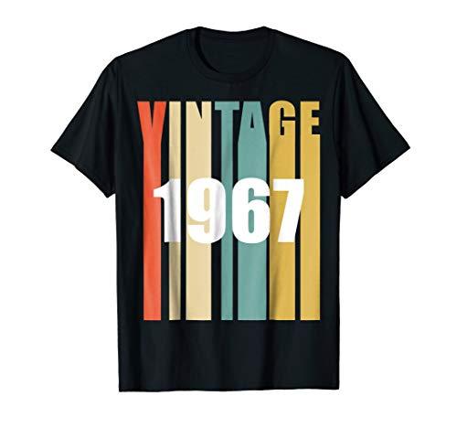 Retro Vintage 1967 50th Birthday Tee Shirt