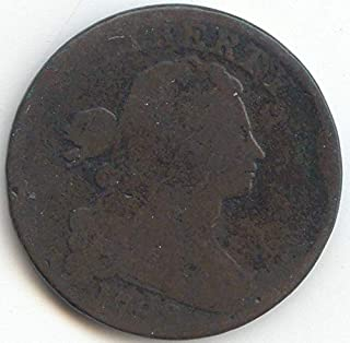 1798 S Draped Bust Second Hair Style Large Cent About Good