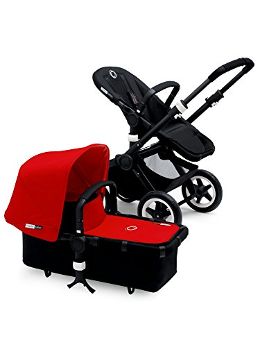 Learn More About Bugaboo Buffalo Black Frame Stroller (Red)
