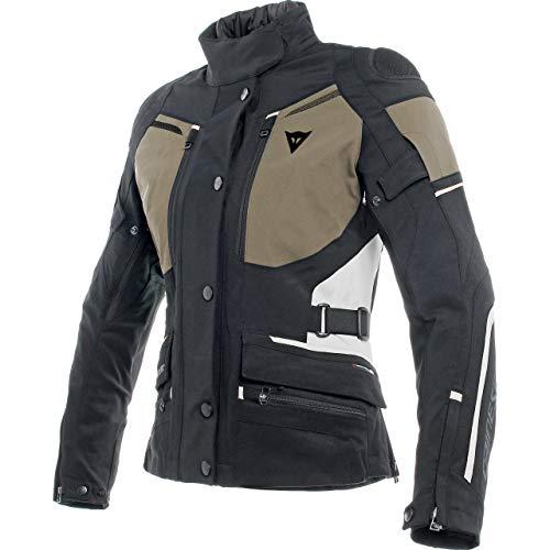 Dainese Carve Master 2 GTX - Chaqueta de moto con protectores para mujer, para todo el año negro, verde y gris 50