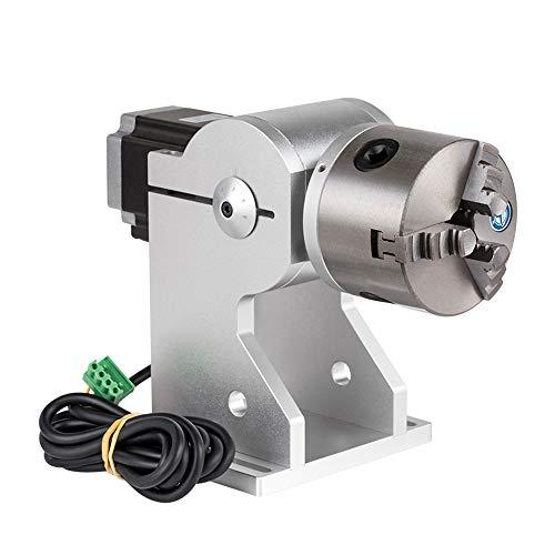 Cloudray D80 Rotary Attachment med Nema 23-motor och drivning för fibermaskin (typ C)
