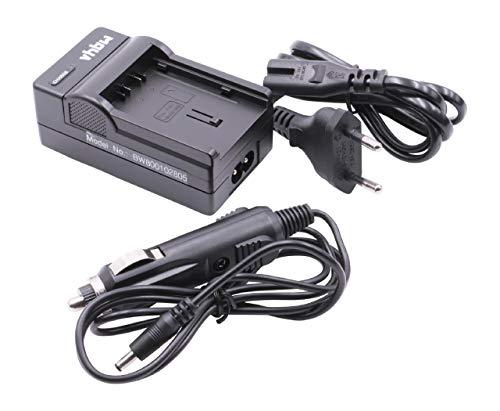 vhbw Cargador batería Compatible con Panasonic TM900, VDR-D160, VDR-D210, VDR-D230, VDR-D310 baterías cámaras, videocámaras, DSLR -Soporte Carga