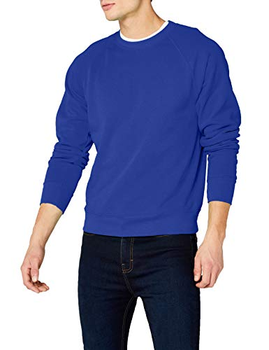 Fruit Of The Loom 62-216-0, Sudadera Para Hombre, Azul (Königsblau), Medium