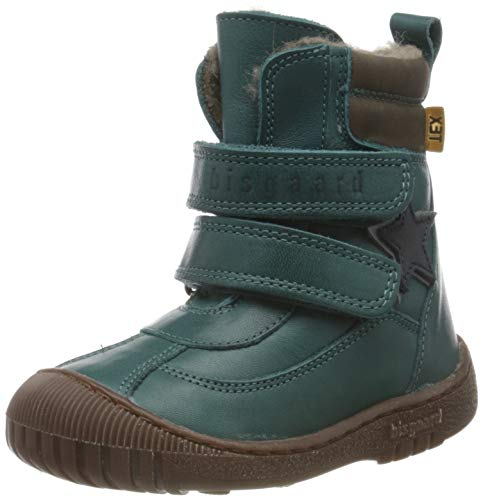 Bisgaard Unisex-Kinder Elix tex boot Stiefel, petrolio, 23 EU