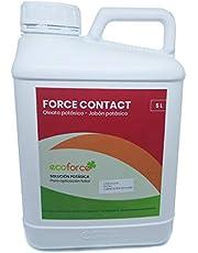 CULTIVERS ECO10F00040 Jabón Potásico Bio. Actúa por Contacto. Multiple usos, Solución Potásica 100% Natural Protección para Tus Plantas, Mejora Las defensas de Las Plantas (5 L)