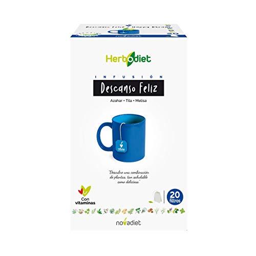 Herbodiet Infusiones Descanso Feliz 20 filtros de Nova Diet