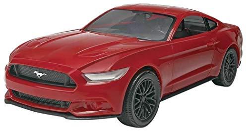 Revell SNAPTITE Build + Play 2015 Mustang GT Model Kit, Red