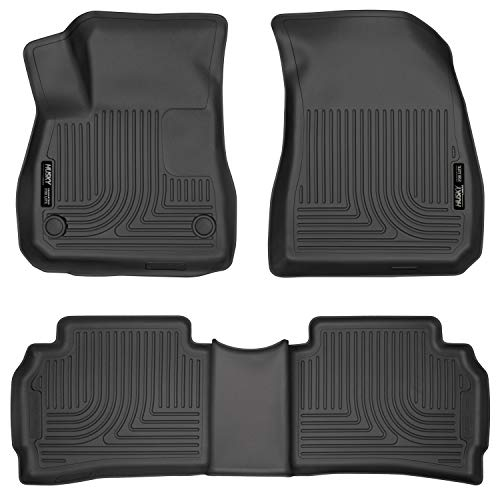 Husky Liners Fits 2016-20 Chevrolet Malibu Weatherbeater Front & 2nd Seat Floor Mats