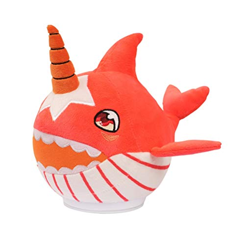 Muñeca de peluche de tiburón bebé de 25 cm, juguete musical con voz de baile, juguete de felpa interactivo para bailar