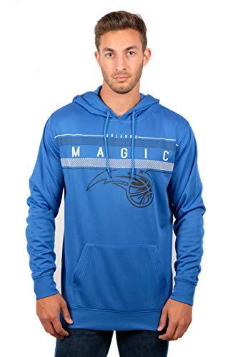 Unk NBA Midtown NBA - Sudadera con Capucha para Hombre, Forro Polar, Color Azul Oscuro, tamaño Mediano