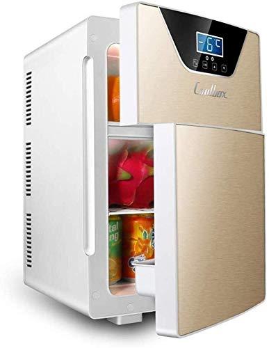 20L Auto-koelruimte draagbare dual voltage koelkast 12V 110-240 V autokoelruimte autokoeler voor thuis reisslaap kantoor zelfrijder levensmiddelen dranken wijn dljyy goud