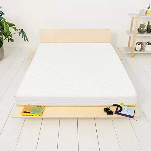 eve Sleep Light UK Double, Breathable Memory Foam Mattress, 135 x 190 cm, 10 Year Warranty