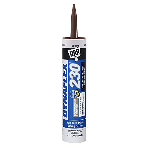 DAP 7079818418 DYNAFLEX 230 (18302) Brown Raw Building Material, 10.1 oz, 10 Ounces