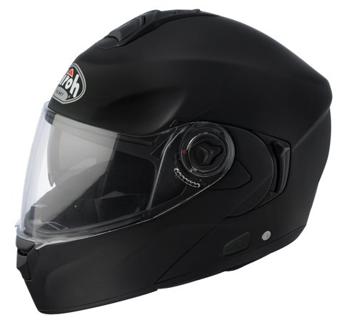 RD11XS - Airoh Rides Color Flip Front Motorcycle Helmet XS Matt Black