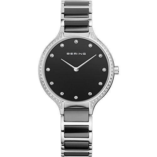 BERING Damen-Armbanduhr Analog Quarz Edelstahl 30434-742