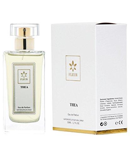 Thea Eau de Parfum pour Femme/Women , Chypre-Fruite-Vanille Fragrance de Fleur Parfumerie , Vaporisateur Spray, 1 x 50 ml