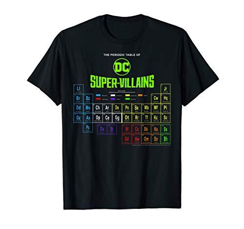 DC Comics The Periodic Table Of Super Villains T-Shirt