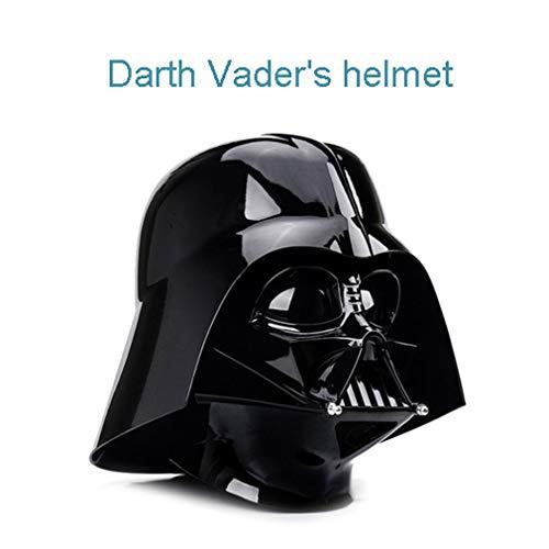 Q Marvel toy Darth Vaders Helm, Star Wars Black Warrior Cutter, Verhältnis 1: 1, ABS, raschelnd