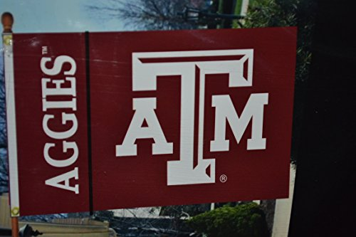 BSI PRODUCTS, INC. - Texas A&M Aggies 3�x5� Flag with Heavy-Duty Brass Grommets - TAMU Football, Basketball & Baseball Pride - High Durability - Designed for Indoor or Outdoor Use - Great Gift Idea