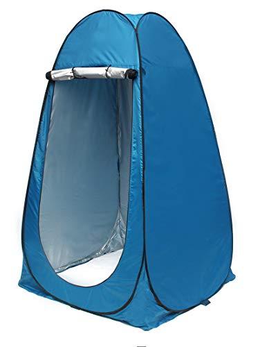 ISO TRADE Outdoor Pop Up Camping Duschzelt Umkleidezelt Ohne Zeltboden Tragbar Faltzelt 8823