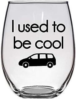Funny Christmas Gift For Mom, Dad - I Used To Be Cool - Minivan Driving Dad Mini Van Joke Gag Gift for Mom - Premium 21oz ...
