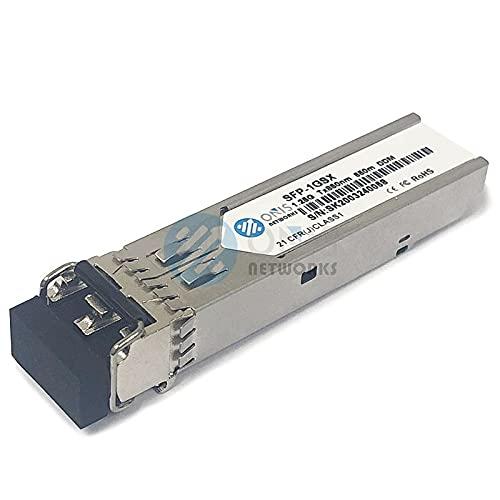 Cisco GLC-SX-MM Compatible 1000BASE-SX SFP Transceiver Module (MMF, 850nm, 550m, LC, DOM) 1000base sfp sx