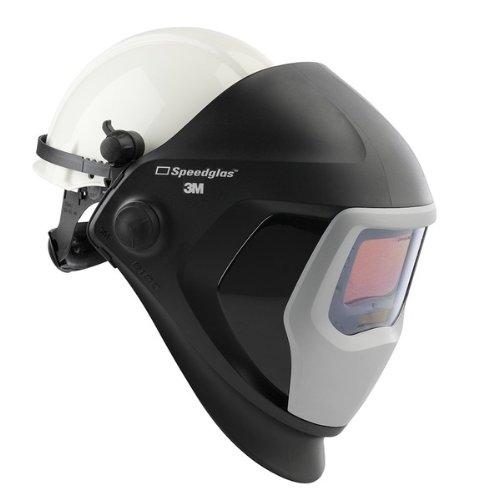 3M Speedglas Welding Helmet 9100, Welding Safety 06-0100-30HHSW with Hard Hat, SideWindows and Speedglas Auto-Darkening Filter 9100XX, Shades 5, 8-13