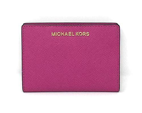 Michael Kors Carryall 2 in 1 Wallet With Card Case (Fuschia)