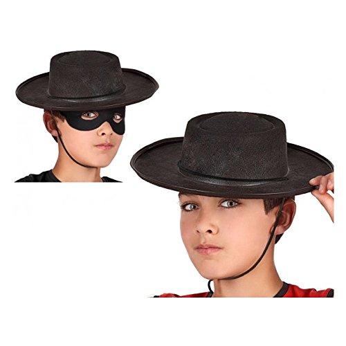 Atosa-48906 Sombrero Cordobés, Color negro (48906 , color/modelo surtido