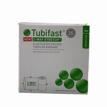 Tubifast Green Line Schlauchverband, elastisch, Viskose, elastisch, 5 cm x 3 m