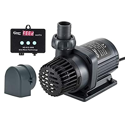 hygger 24V DC Water Pump Submersible Saltwater ...