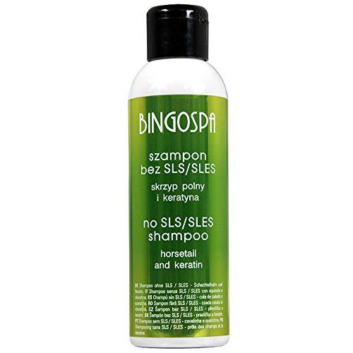 Shampoo ohne SLS/SLES für empfindlicher Kopfhaut oder Haar mit Keratin und Schachtelhalm - 100 ml
