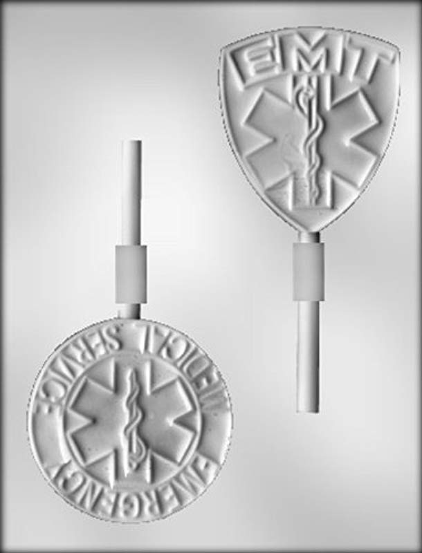 CK Products 3 1 2 Inch EMT Sucker Chocolate Mold
