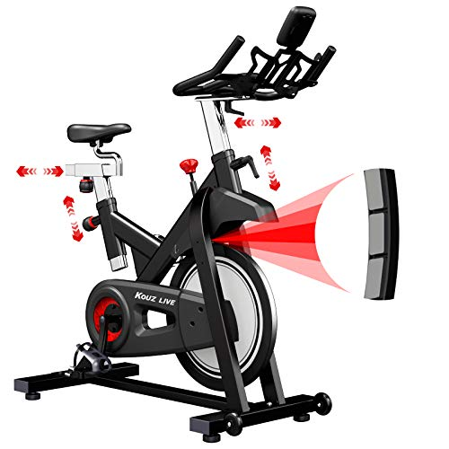 KOUZ LIVE Indoor Cycling Exercise Bike