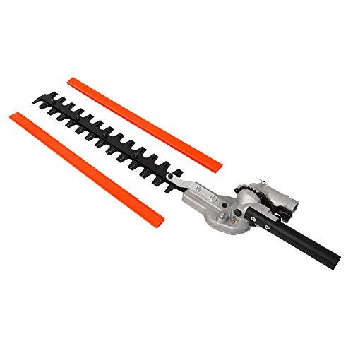 Cortasetos, cortasetos fuertes y resistentes Herramientas eléctricas para exteriores de 43,5 cm hechas de aluminio para recortar setos