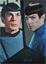 Star Trek TOS Captains Collection Bridge Crew Chase Card D2 Spock Nimoy Quinto