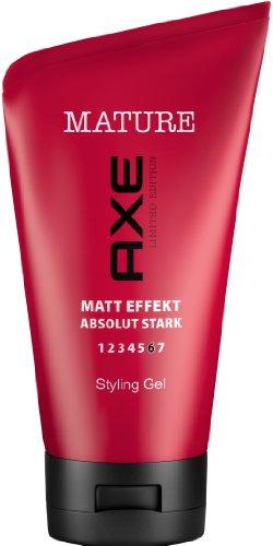 Axe Mature Styling Gel, 6er Pack (6 x 125 ml)