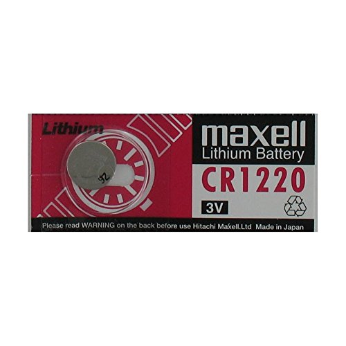 Pile maxell bouton lithium CR1220 3 Volts