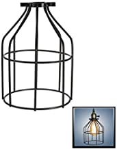 metal wire cage lamp shade