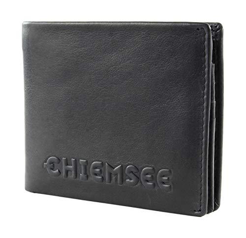 Chiemsee Geldbörse Laos Echt Leder schwarz Herren - 020287