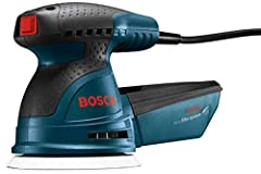 SMOOTH FINISH: Pad dampening system designed to eliminate swirl marks on both flat and contoured surfaces EASY DISC ATTACHMENT: Through Bosch's signature Hook and Loop disc attachment system, sanding pads stick to the hand sander, acting like a Velcr...