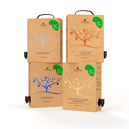 Promo selezione Bag in Box 3L Biologico Torri Cantine