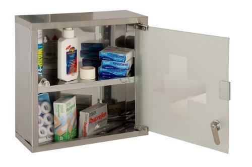 URBNLiving Wand montierbar Medizinschrank (klein)