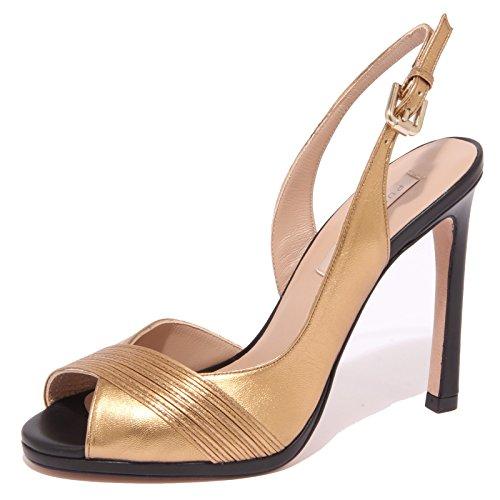 8875P Sandalo PURA LOPEZ Gold Scarpa Donna Shoe Sandal Woman [40]
