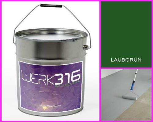 6,75€/l - 20L Bodenbeschichtung Betonfarbe Bodenfarbe Bodenversiegelung Garagenfarbe Laubgrün