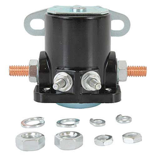 Complete Tractor New Solenoid 1100-0212 Compatible with/Replacement for Ford/New Holland 1100 Compact Tractor, 2000 Series 3 Cyl 65-74, 2150, 2300, 230A, 231, 234, 76919 D2AF11450A, D2AF11450AA