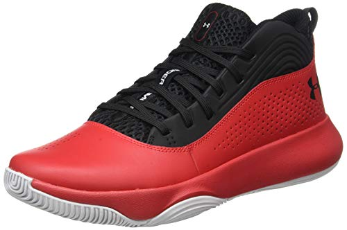 Under Armour UA Lockdown 4, Zapatos de Baloncesto para Hombre, Negro (Black 004), 41 EU