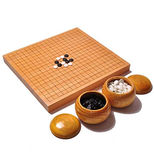 Bordspel, Chinees schaak/Ga twee in een, Strategie Spel Familie Onderwijs Props 18.5''*17.3''