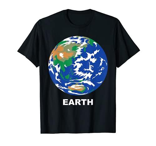 Trajes de Grupo de Sistema Solar - Planeta Terrestre de la Tierra Camiseta